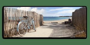 Leinwandbild Bicycle