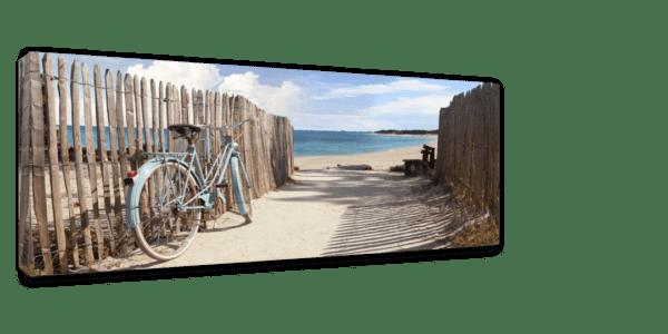 Leinwandbild Bicycle Ansicht schräg