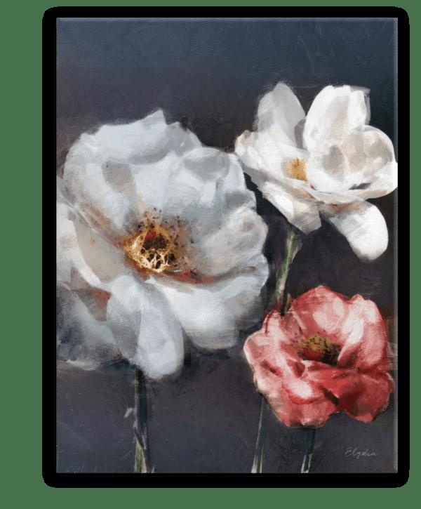 Leinwandbild Red Rose