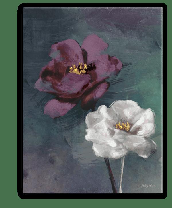 Leinwandbild Violet Rose