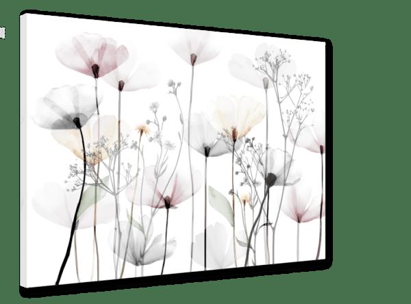 Leinwandbild Poppy Ansicht schräg