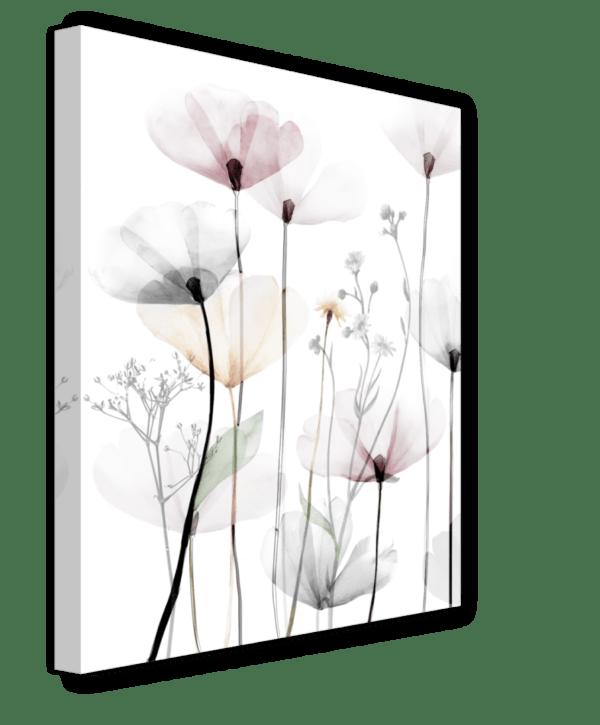 Leinwandbild Modern Poppy Ansicht schräg