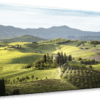 Glasbild Tuscany Ansicht schräg