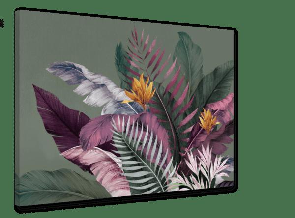 Leinwandbild Colorful Leaves Ansicht schräg