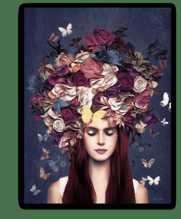 Leinwandbild Bouquet