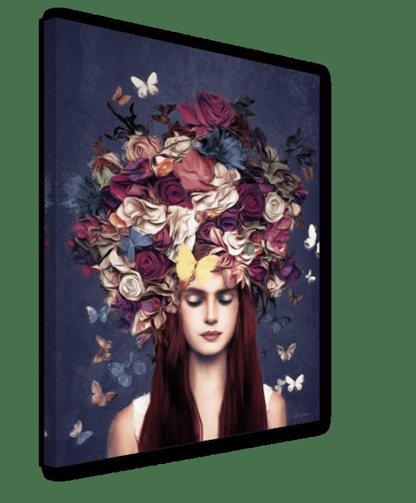 Leinwandbild Bouquet Ansicht schräg