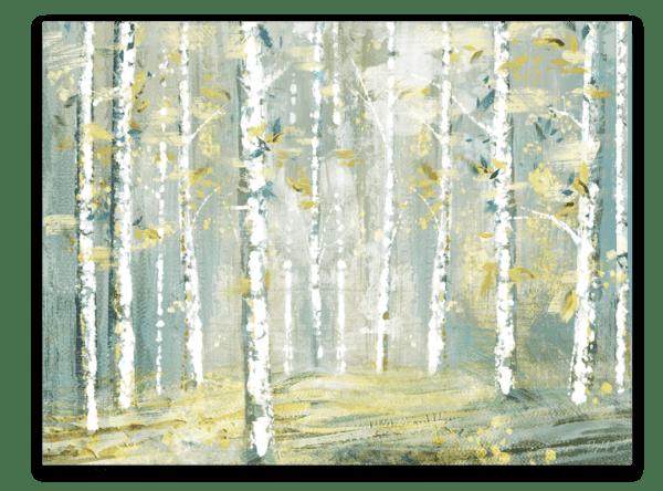 Leinwandbild Abstract Forest