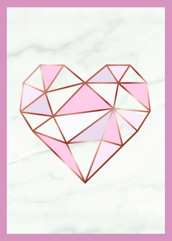 Rahmenbild Herz