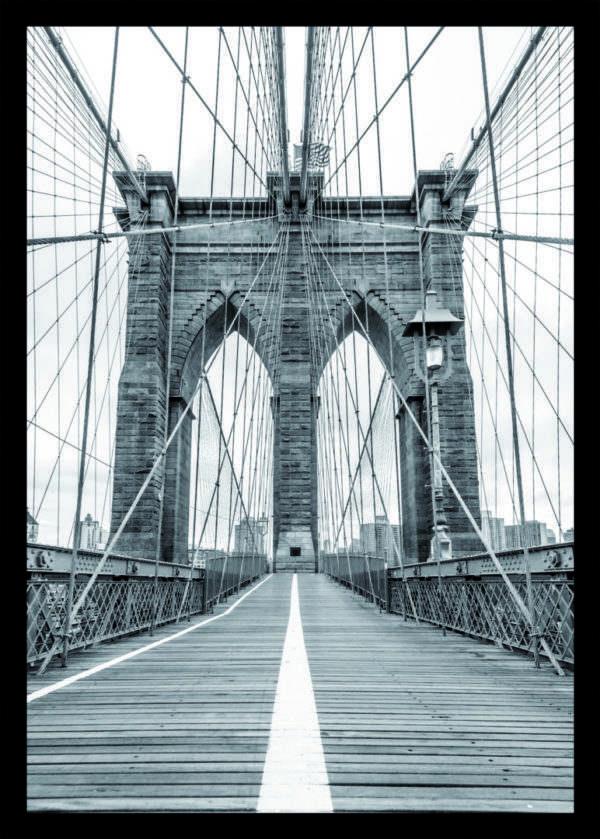 Rahmenbild Brooklyn Bridge