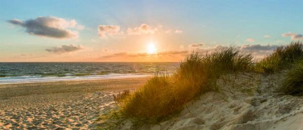 Leinwandbild Strand