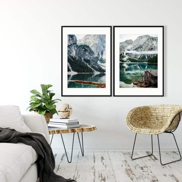 Artbox Lake im Wohnzimmer