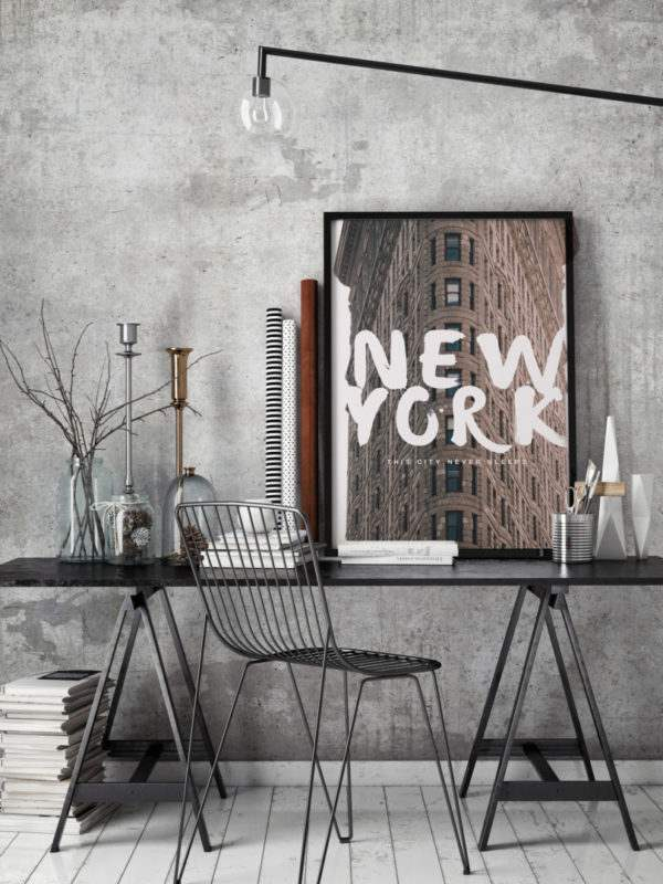 Artbox New York im Arbeitszimmer