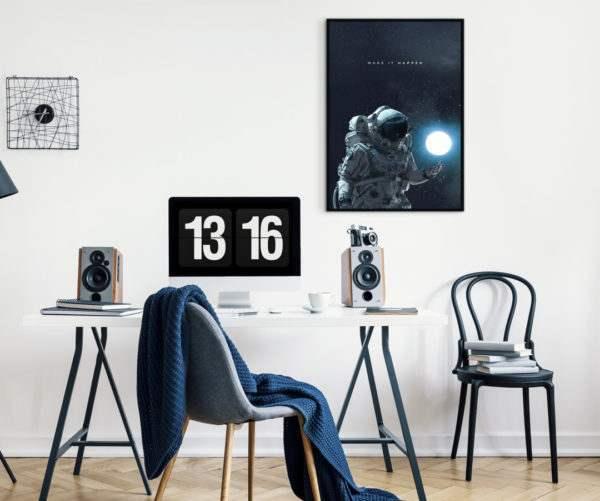 Artbox Make It Happen im Wohnzimmer