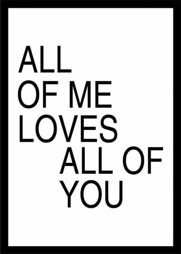 Rahmenbild All of Me