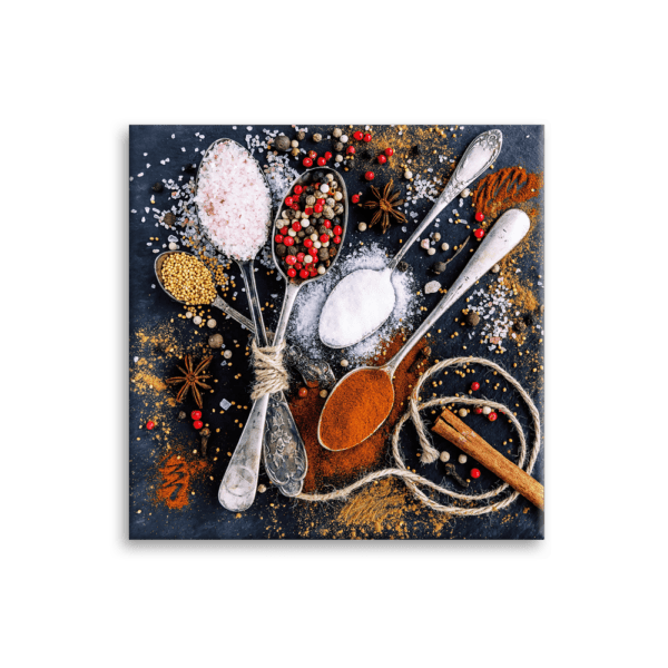 Glasbild Cinnamon