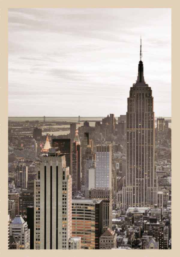 Rahmenbild Empire State Building