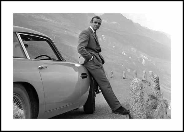 Gerahmtes Bild Sean Connery – 30x40cm
