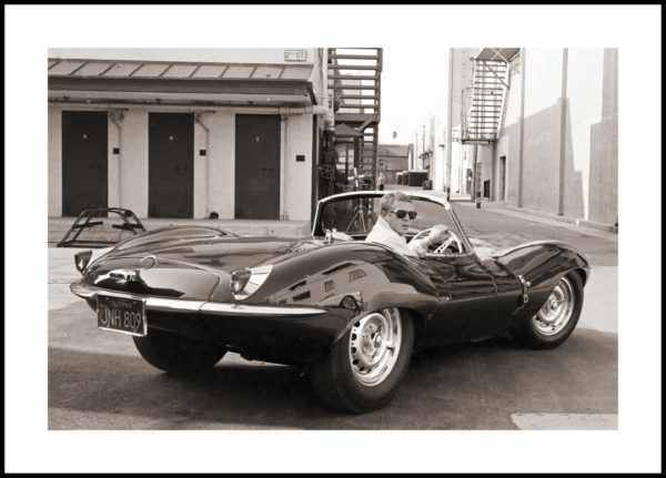 Gerahmtes Bild McQueen – 30x40cm