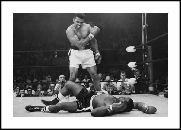 Gerahmtes Bild Muhammad Ali 2 – 30x40cm
