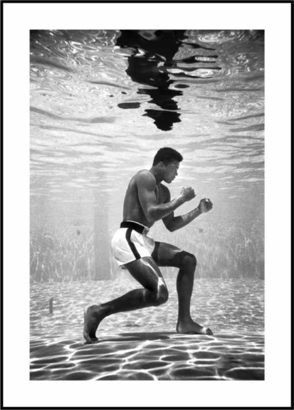 Gerahmtes Bild Muhammad Ali 1