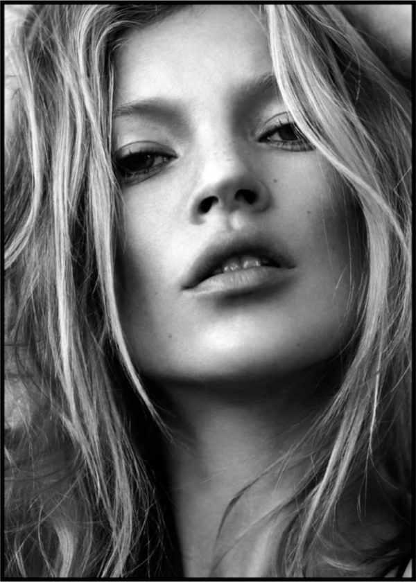Gerahmtes Bild Kate Moss 3