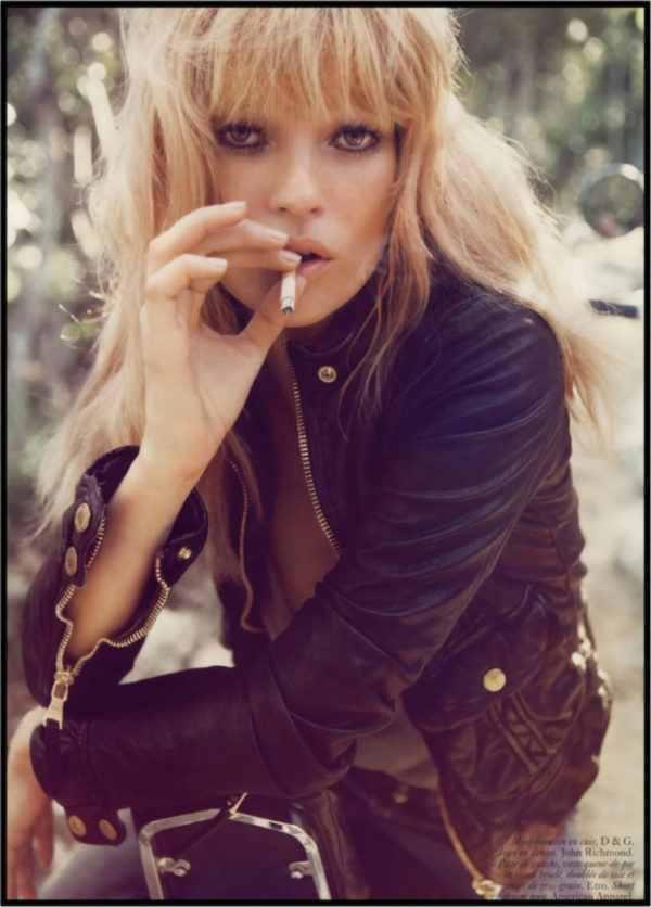 Gerahmtes Bild Kate Moss 4