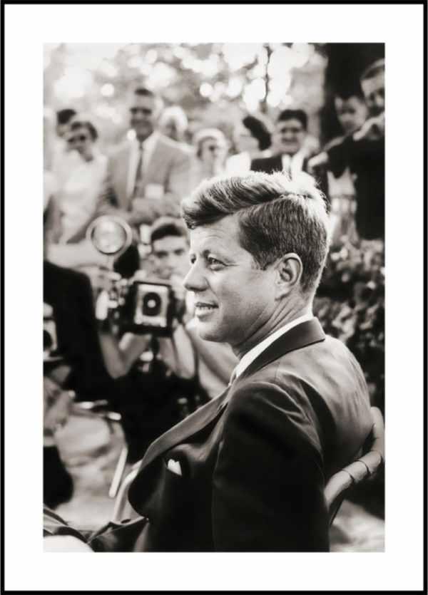 Gerahmtes Bild Kennedy