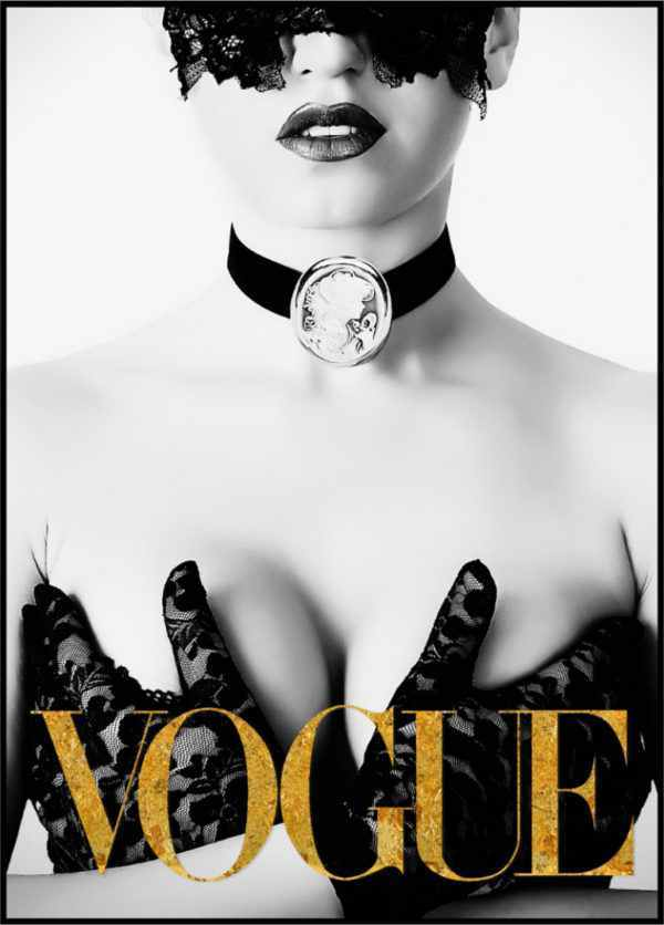 Gerahmtes Bild Vogue 6