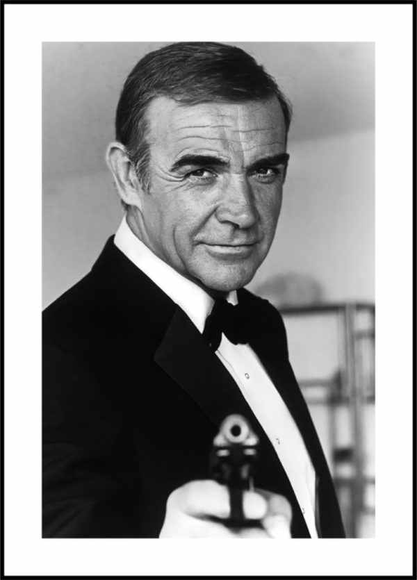 Gerahmtes Bild James Bond 2