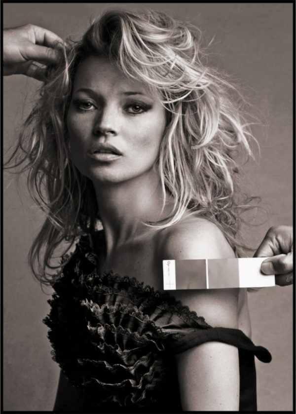 Gerahmtes Bild Kate Moss 2