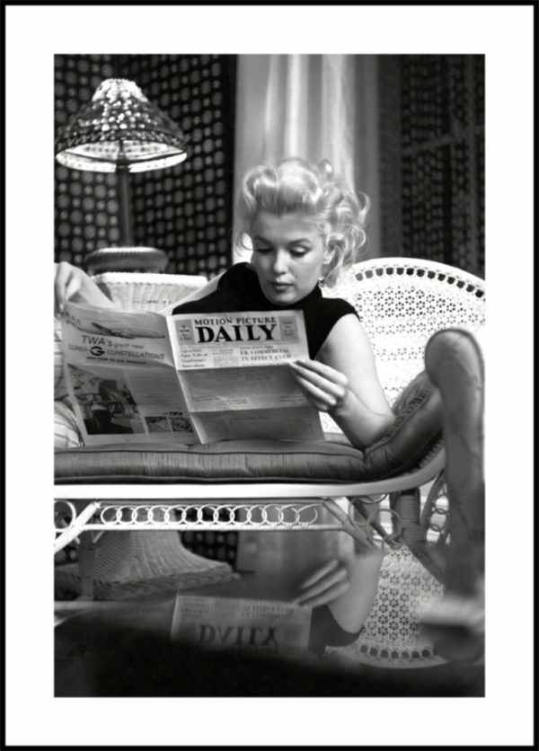 Gerahmtes Bild Marilyn Monroe 2